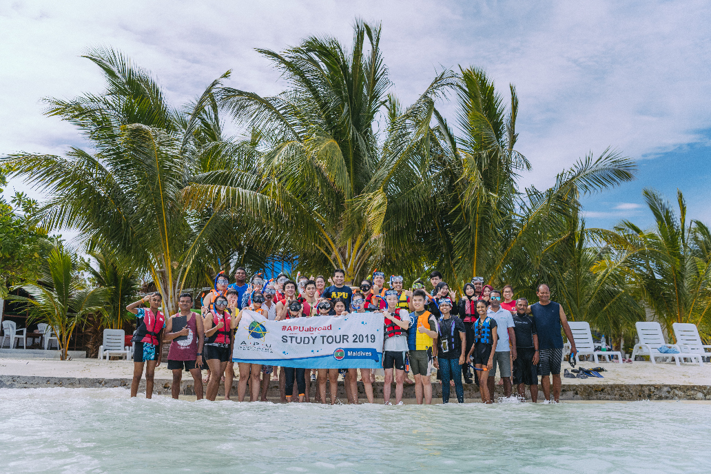 Students and staff from 10 nationalities embarked on an unforgettable 8 Days 7 Nights experience to the Maldives.